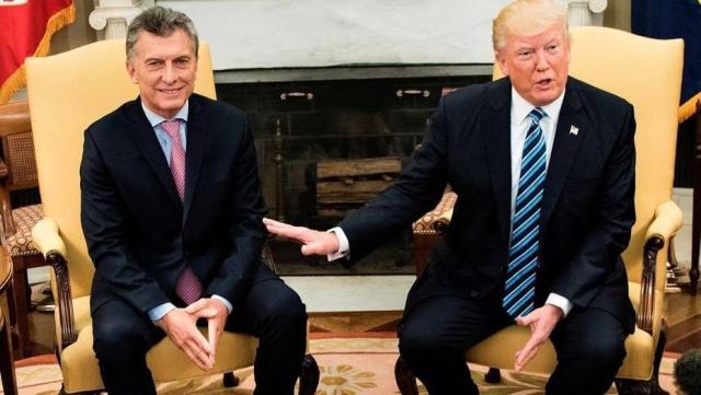 Macri se comunicó con Trump para tratar la relación comercial entre ambos países