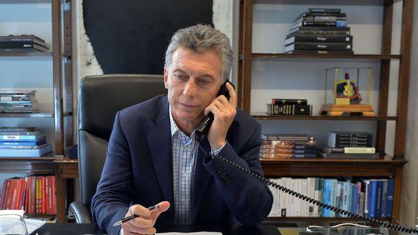 El presidente Macri le dio su pésame a la madre de Santiago Maldonado